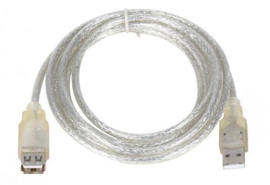 Кабель удлинитель USB 2.0 AM/AF 1.8м Vcom