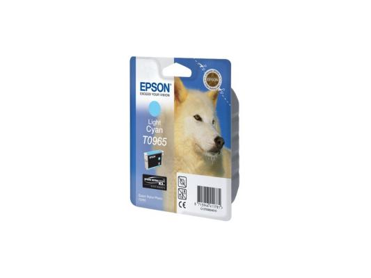 Картридж Epson C13T09654010 для Epson Stylus Photo R2880 светло-синий картридж epson t009402 для epson st photo 900 1270 1290 color 2 pack