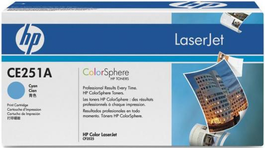 Картридж HP CE251A №504А голубой для Color LaserJet CM3530 CP3525 7000стр cc452 60001 cc519 67921 formatter board for hp color laserjet cm3530 mfp