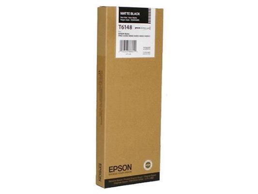 Картридж Epson C13T614800 для Epson SP4450 черный матовый картридж epson t1291 черный [c13t12914011]