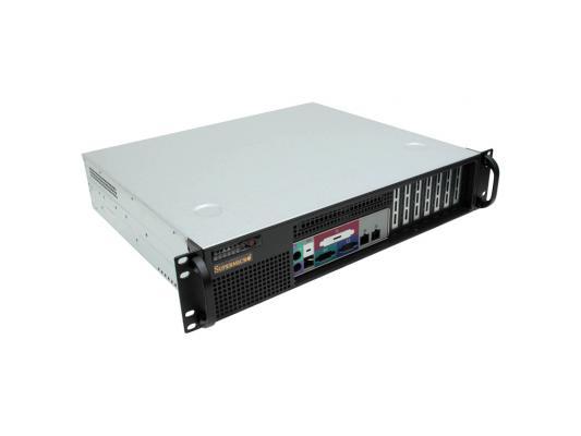 Серверный корпус 2U Supermicro CSE-523L-520B 520 Вт чёрный