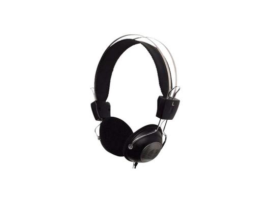Проводная гарнитура A4Tech HS-23 Black a4tech hs 60 в интернет магазине