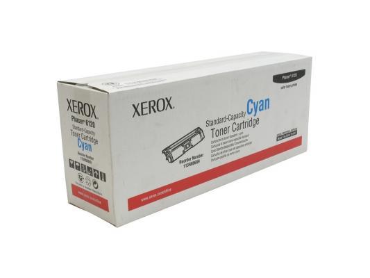 Картридж Xerox 113R00689 для Phaser 6120/6115 голубой 1500стр. картридж xerox 108r00909 для phaser 3140 2500стр