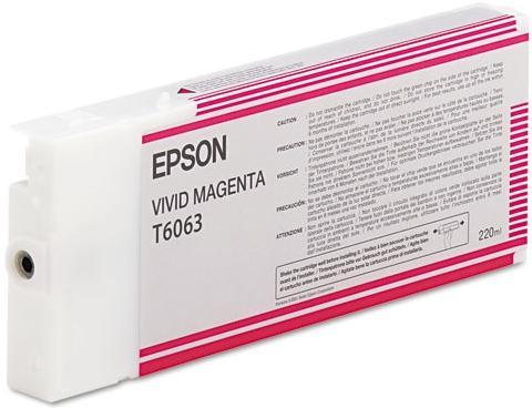 Картридж Epson C13T606300 для Epson Stylus Pro 4880 яркопурпурный 220 мл картридж epson t009402 для epson st photo 900 1270 1290 color 2 pack