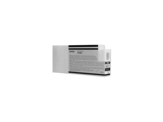 Картридж Epson C13T596100 для Epson Stylus Pro 7900/9900 Photo Black черный картридж epson c13t636800 для epson stylus pro 7900 9900 матовый черный