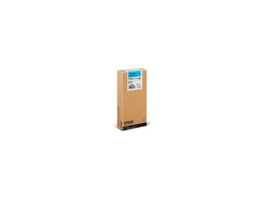 Картридж Epson C13T596500 для Epson Stylus Pro 7700/7900/9700/9900 светло-голубой 350мл maintance tank chip resetter for epson 7900 9900 7700 9700 printer