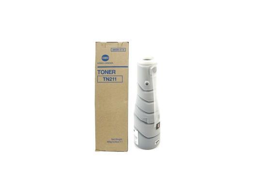 Тонер Konica Minolta TN211BK для DI-222 282 черный 17500стр 8938415 compatible toner refill color konica minolta bizhub c220 c280 c360 color toner powder 4kg free shipping high quality
