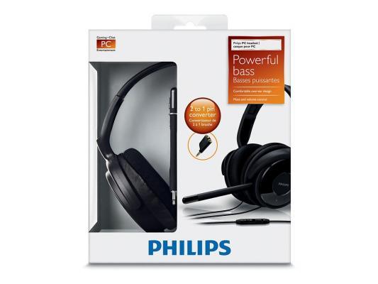 Гарнитура Philips SHM6500/10 черный philips sbchl145 10