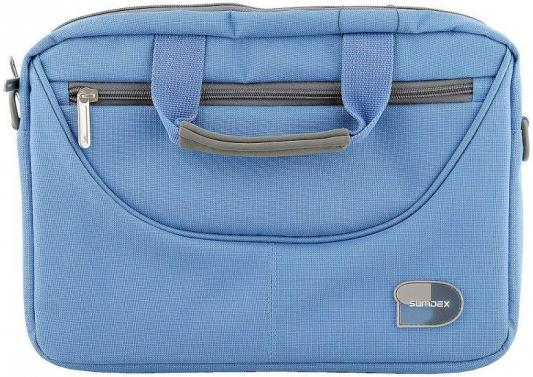 Сумка для ноутбука 10 Sumdex PON-308BU сумка для ноутбука sumdex pon 308bu netbook case до 10 нейлон полиэстер голубой 29 8 х 21 х 5 1 см