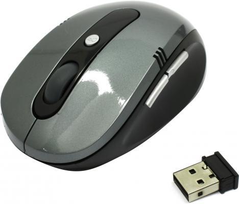 Мышь беспроводная CBR CM 500 серый USB мышь беспроводная cbr mf 500