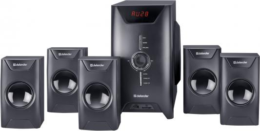 Колонки DEFENDER ORCHESTRA M80 30W+5*10W, беспроводной пульт ДУ, MP3-плеер, USB, SD, FM