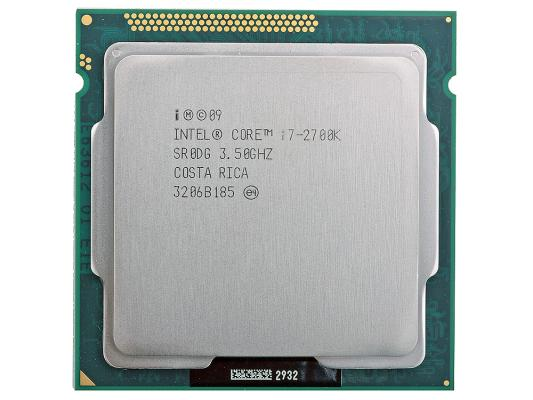 Купить Процессор Intel Core i7-2700K 3.5GHz 8Mb Socket 1155 OEM