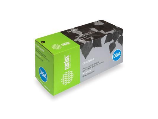 Тонер-Картридж Cactus CS-C3906A для HP LaserJet 5L/ 6L/3100/3150 черный 2500стр картридж hp c4092a для laserjet 1100 1100a 3200 3220 черный 2500стр