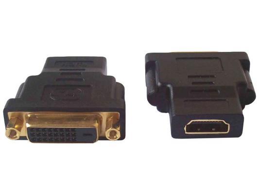Переходник HDMI F - DVI M ORIENT C485 переходник hdmi m dvi m