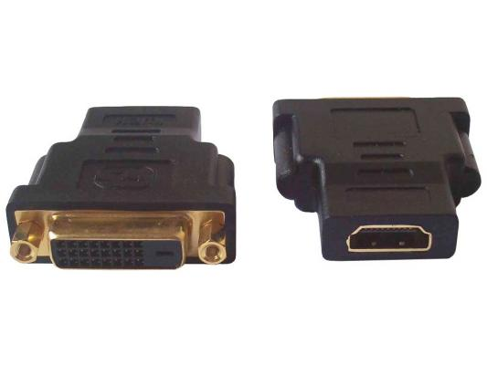 Переходник HDMI F - DVI M ORIENT C485 адаптер orient c393 c393 n dvi i 24 5 m vga 15f