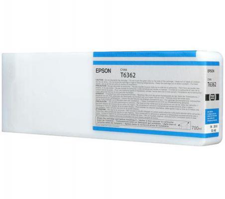 Купить Картридж Epson C13T636200 для Epson Stylus Pro 7900/9900 голубой