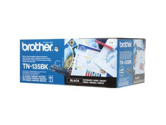 Лазерный картридж Brother TN-135BK черный для HL-4040CN 4050CDN DCP-9040CN MFC-9440CN 5000стр картридж tn135bk brother tn 135bk tn135bk