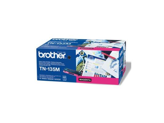 Лазерный картридж Brother TN-135M пурпурный для HL-4040CN/4050CDN/DCP-9040CN/MFC-9440CN 360 lace frontal pre plucked brazilian virgin hair 360 degree lace frontal closures body wave with adjustable strap 22x4x2
