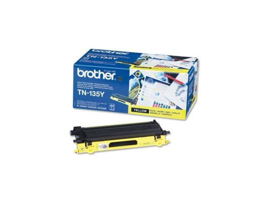 Лазерный картридж Brother TN-135Y желтый для HL-4040CN 4050CDN DCP-9040CN MFC-9440CN 4000стр brother lc1220y yellow картридж для brother dcp j525w mfc j430w mfc j825dw