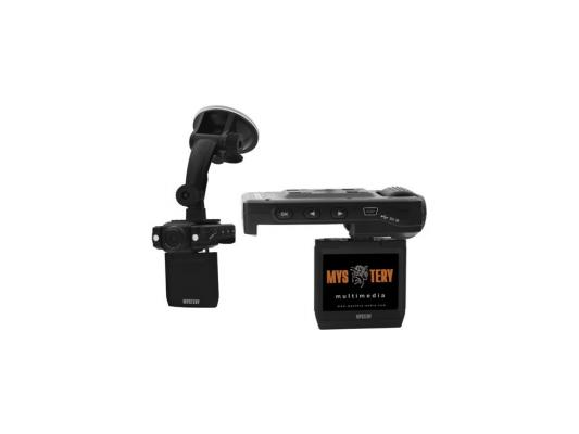 """Видеорегистратор Mystery MDR-650 2"""" 1280x960 5Мп 120° microSD microSDHC Черный"""