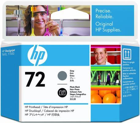 Печатающая головка HP C9380A №72 для HP Designjet T610 T620T770 T1100 T1200 T1200 T2300 T790 T1300 черный/серый hot sales 80 printhead for hp80 print head hp for designjet 1000 1000plus 1050 1055 printer