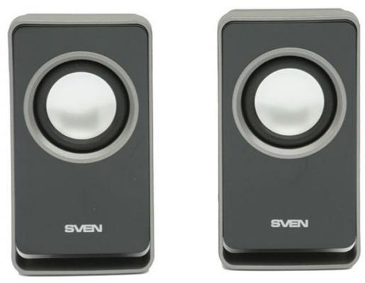 Колонки Sven 355 2x3Вт ABS-пластик черный