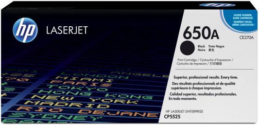 Картридж HP CE270A черный для LaserJet CP5520 13500стр hp 932xl cn053ae