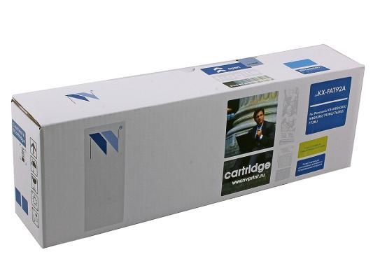 Картридж NV-Print KX-FAT92A для Panasonic KX-MB263/763/773
