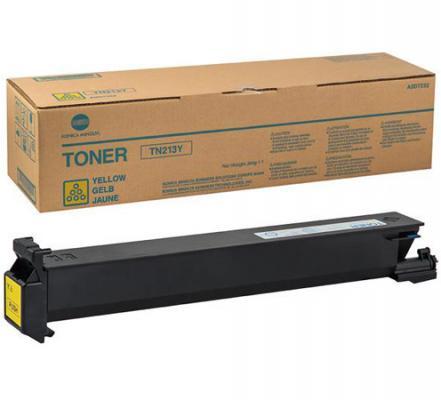 Тонер-картридж Konica-Minolta TN-213Y для Bizhub C203 Yellow Желтый bulk toner powder for konica minolta c200 c203 c210 copier for konica tn214 tn 214 toner powder laser printer color toner powder