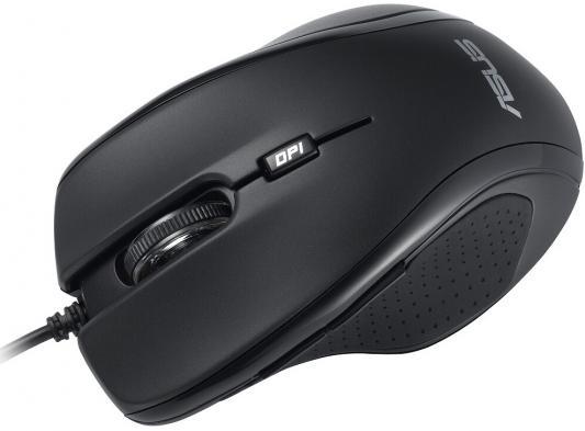 Мышь проводная ASUS UX300 чёрный USB 90-XB2P00MU00000 цена 2017