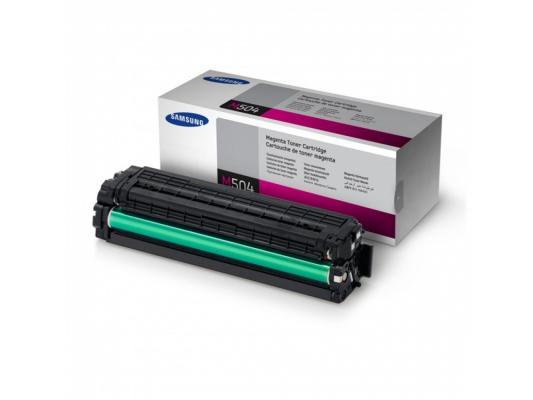 Картридж Samsung CLT-M504S для CLP-415 470 475 CLX-4170 4195 пурпурный toner for samsung clt c5042s m5042s clp 410 clx 4195 clt 504s clt m504 s c 504 s clt m 5042 s xaa laser color printer powder
