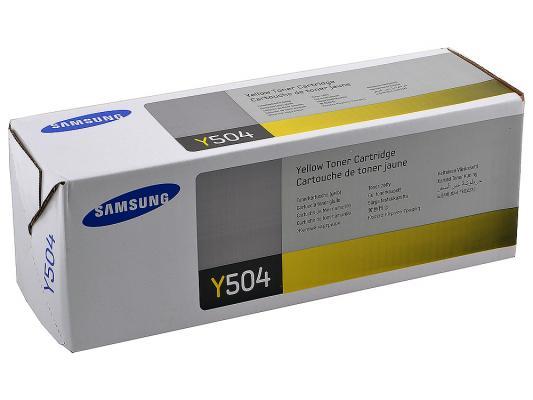 Картридж Samsung CLT-Y504S для CLP-415/470/475/CLX-4170/4195 желтый кобура кобура gletcher поясная для clt 1911