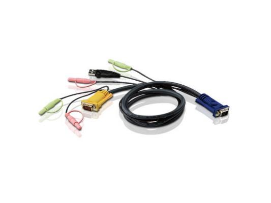 Кабель ATEN 2L-5302U HD15M/USBM/SP/SP-SPHD15M 1.8M