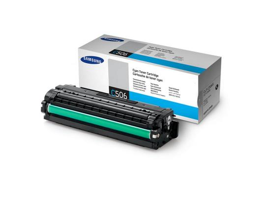 Картридж Samsung CLT-C506S для CLP-680ND CLX-6260FD 6260FR Cyan Голубой