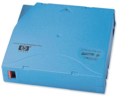 цена Ленточный картридж HP Ultrium LTO5 3TB C7975A