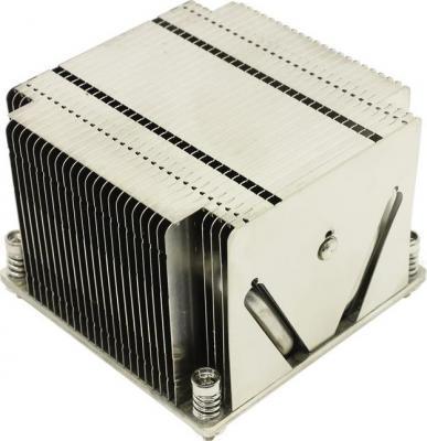 Радиатор Supermicro SNK-P0048P 2U, LGA2011 Passive Heatsink, Square ILM кулер для процессора supermicro snk p0050ap4 dp up lga2011 square narrow ilm