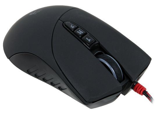 Мышь проводная A4TECH Bloody V3M чёрный USB