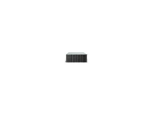 Серверный корпус Supermicro CSE-846E26-R1200B 4U E-ATX 13.68''x13'' 24x3.5' HotSwap SAS/SATA SES2 SAS2/SATA 1200Вт черный