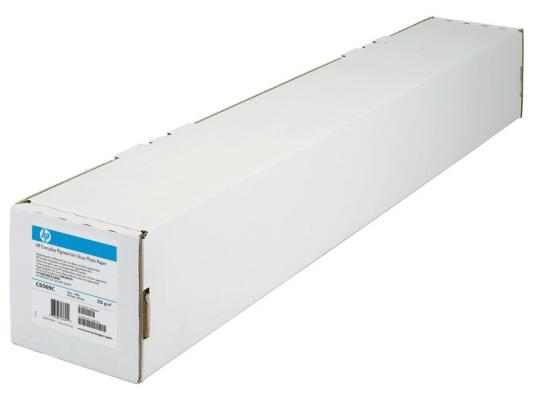 Бумага HP C6569C Сверхплотная бумага с покрытием 1067мм*30,5м 130г/м2 бумага hp c6569c сверхплотная бумага с покрытием 1067мм 30 5м 130г м2