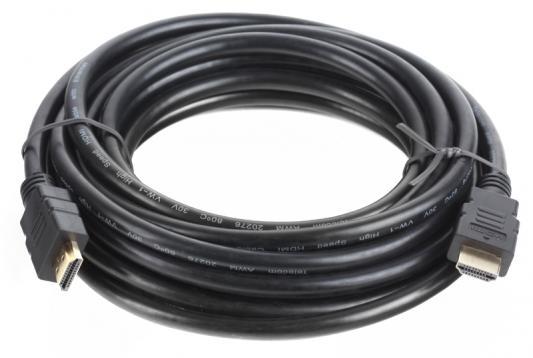 Кабель Telecom HDMI to HDMI (19M -19M) ver.1.4b, 5м, с позолоченными контактами