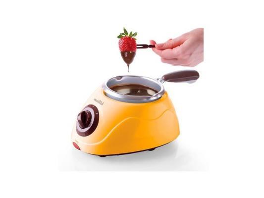 Прибор для приготовления шоколадного фондю Smile FD 4001 жёлтый