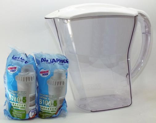 Фильтр для воды Аквафор ПРЕМИУМ кувшин белый