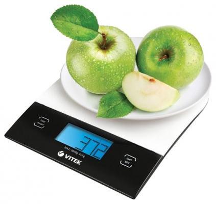 Весы кухонные Vitek 2406BW белый