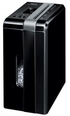 Уничтожитель бумаги Fellowes PowerShred DS-500C (секр. 3, 4х38мм, 5 лиcт, 8 литр. Уничт. скобы, пл.карты,скрепки (FS3401301) fellowes ds 500c