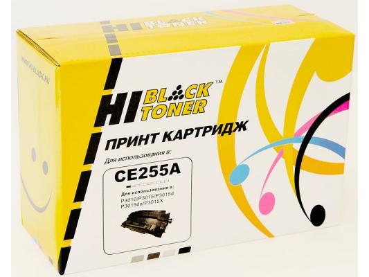 Картридж Hi-Black для HP CE255A LJ P3015 6000стр hp cn053ae 932xl black струйный картридж