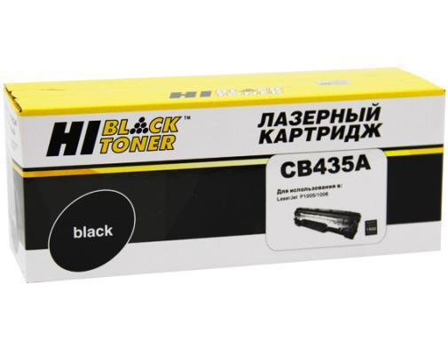 Картридж Hi-Black для HP CB435A LJ P1005/P1006 1500стр