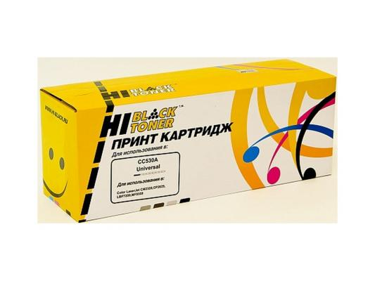 Картридж Hi-Black для HP CC530A/№718 CLJ CP2025/CM2320/Canon LBP7200 черный 3500стр canon 712 1870b002 black картридж для принтеров lbp 3010 3020