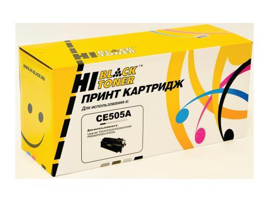 Картридж Hi-Black для HP CE505A LJ P2055/P2035/Canon №719 2300стр картридж hp ce505a для lj 2035 2055 2300стр