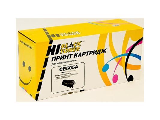 Картридж Hi-Black для HP CE505X LJ P2055/P2050 6500стр hp cn053ae 932xl black струйный картридж