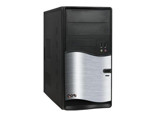 Корпус microATX Super Power QM105-A11 450 Вт чёрный серебристый